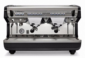 Кофемашина Nuova Simonelli Appia II 2Gr V 220V black+economizer+high groups